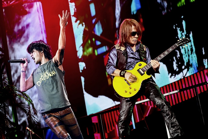 B'z DVD & Blu-ray Now on sale !!