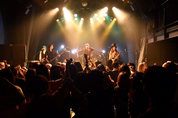 Initial'L 2018.11.06 初台The DOORS「2nd Anniversary Night Party」ライブ風景�F