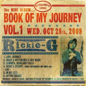 BOOK OF MY JOURNEY VOL.1 / Rickie-G