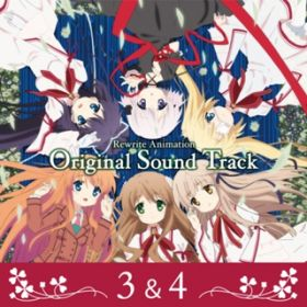 アルバム - アニメ『Rewrite』Original Sound Track (3&4) / VisualArt's / Key Sounds Label