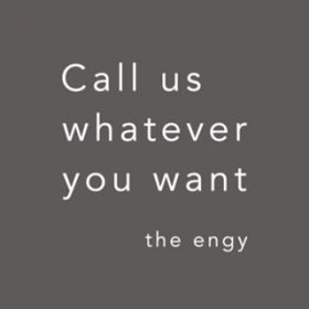 アルバム - Call us whatever you want / the engy