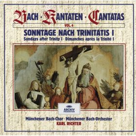 Bach, J.S.: Sundays after Trinity I (Vol. 4) / Munchener Bach-Orchester/Karl Richter