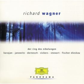 Wagner: The Ring of the Nibelung (Highlights) (2 CDs) / Berliner Philharmoniker/Herbert von Karajan