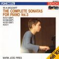 Mozart: The Complete Sonatas for Piano, Vol. 3