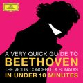 Beethoven: The Violin Concerto & Sonatas in under 10 minutes