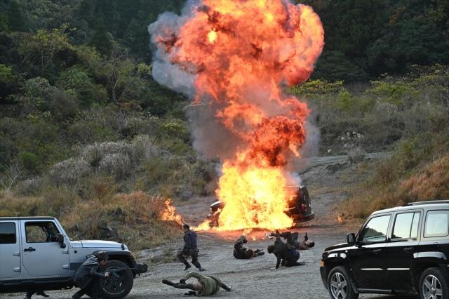 唐沢寿明主演『24 JAPAN』年内ラスト カーチェイスに銃撃戦、車も爆破 ...